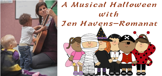 Musical Halloween with Jen Havens-Romanat
